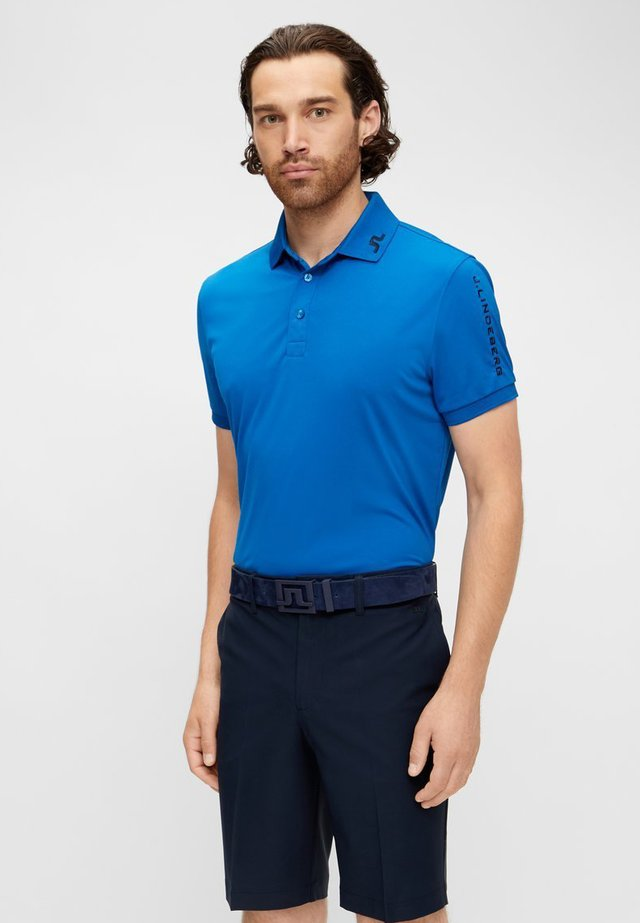 SLIM FIT - Sports shirt - egyptian blue