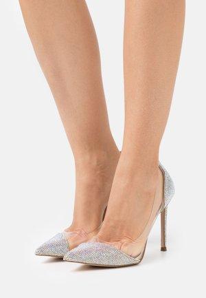 MARJORIE - Classic heels - silver