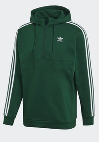 adidas Originals - STRIPES HOODIE - Hoodie - green - 11