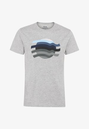 TALLO  - T-shirt z nadrukiem - grey mix