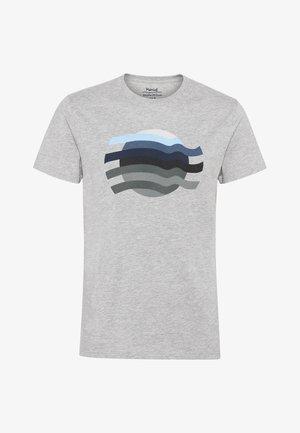TALLO  - Print T-shirt - grey mix