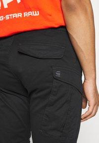 G-Star - ROVIC SLIM TRAINER - Cargo trousers - black - 7