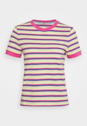 MULTI - Print T-shirt - pink fuchsia