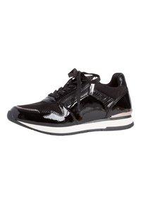 Tamaris - Sneakers laag - black patent - 3