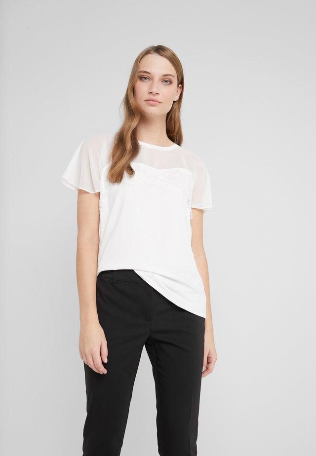 Printtipaita - light white