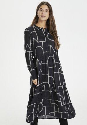 KAGIRA - Shirt dress - black / chalk graphic print