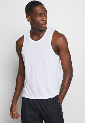 MILER TANK - Camiseta de deporte - white/silver