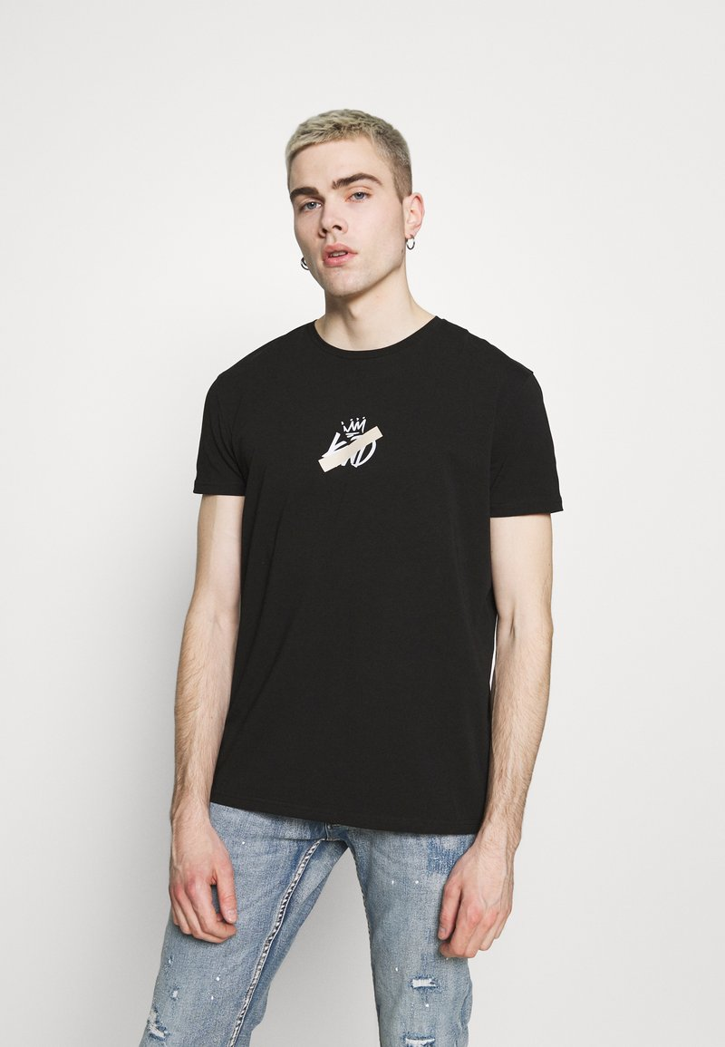 Kings Will Dream - GRINNON TEE - Print T-shirt - jet black