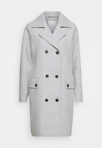 ASTA - Klasyczny płaszcz - light grey