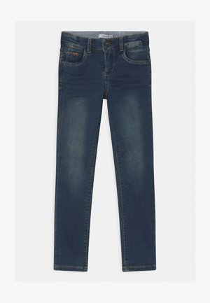 NKMTHEO TOBOS  - Jeans Skinny Fit - dark blue denim