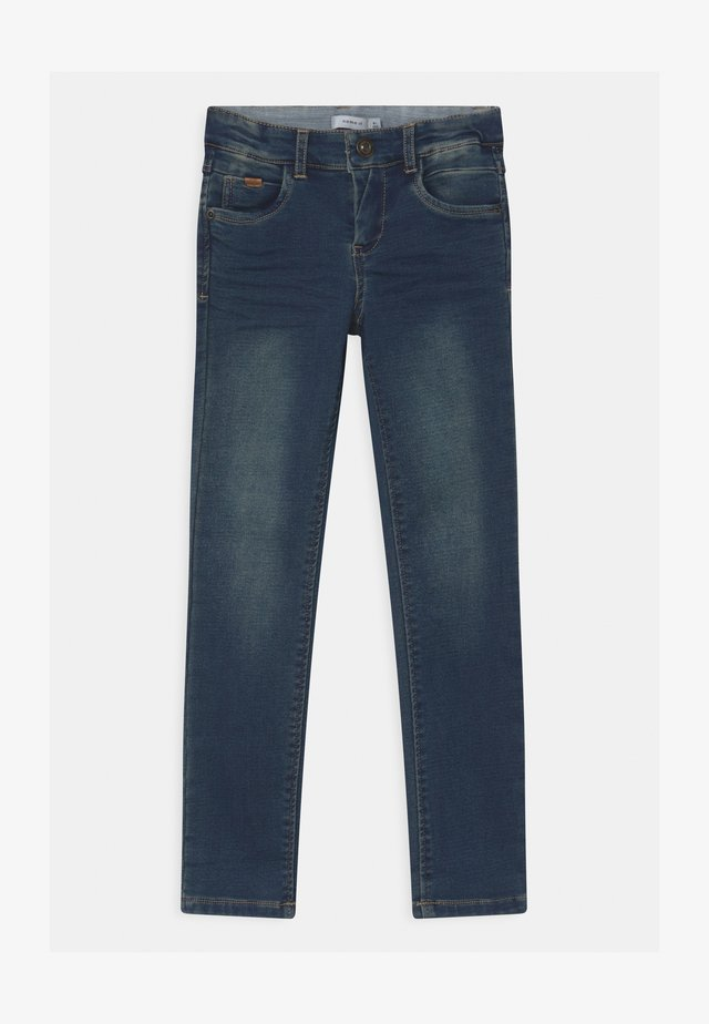 NKMTHEO TOBOS  - Jeans Skinny Fit - dark blue denim