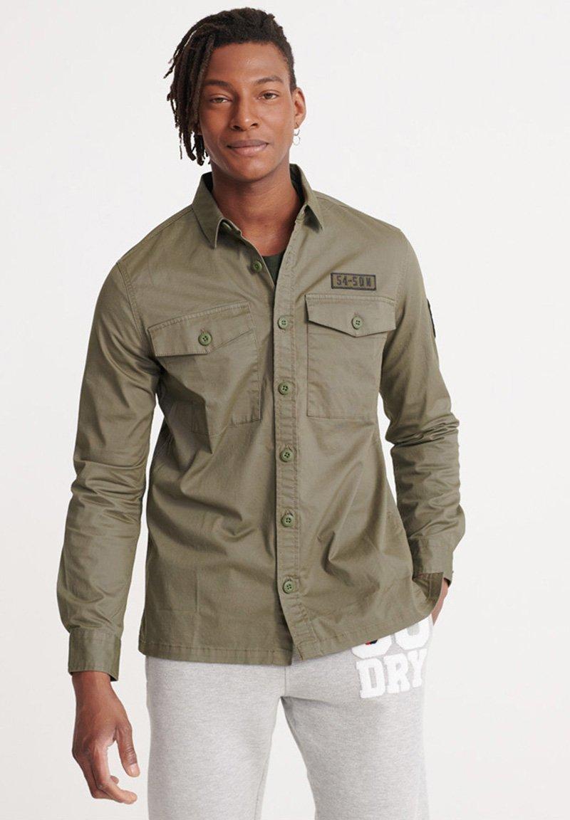 Superdry - Shirt - slate green