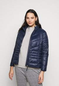 Vero Moda Curve - VMSORAYASIV SHORT JACKET CURVE - Light jacket - navy blazer - 0