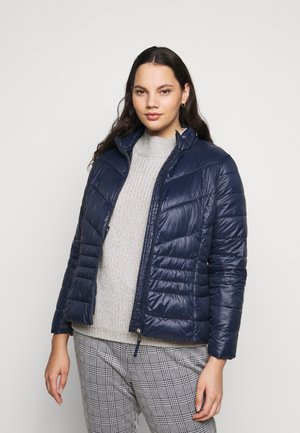 VMSORAYASIV SHORT JACKET CURVE - Light jacket - navy blazer