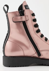 Tommy Hilfiger - Lace-up ankle boots - rose gold - 5
