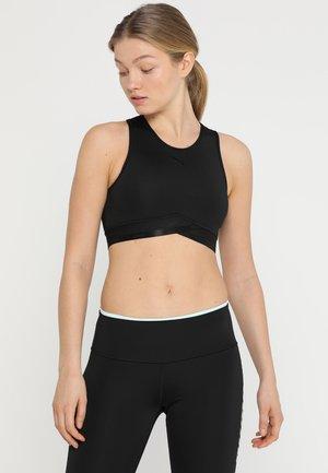 SOFT CROP - Sports shirt - black