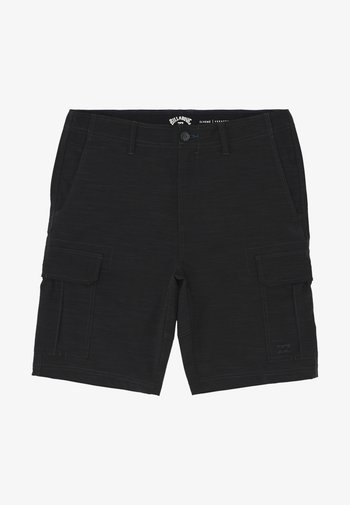 SCHEME SUBMERSIBLE SHORTS - Shorts - black