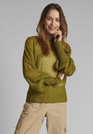 Jumper - calla green
