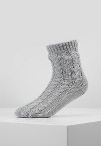 Hunkemöller - SLIPPER SOCK - Sokken - grey - 0