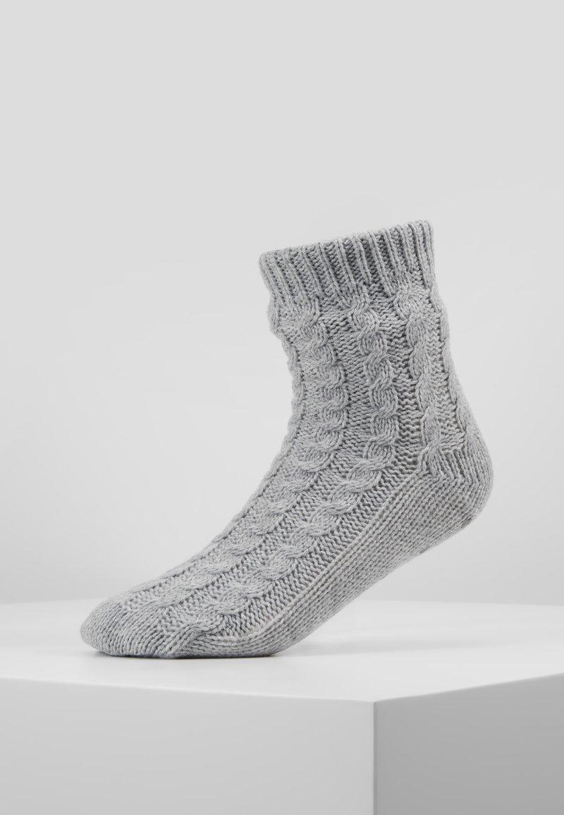 Hunkemöller - SLIPPER SOCK - Sokken - grey