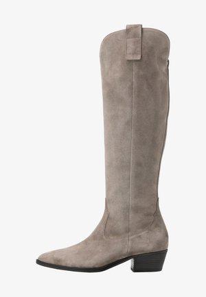 EVE - Cowboystøvler - pebble