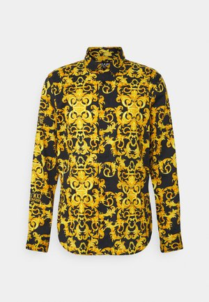 LOGO BAROQUE  - Shirt - black