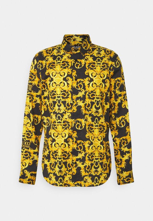 LOGO BAROQUE  - Overhemd - black