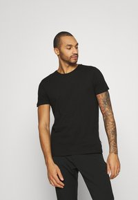 Burton Menswear London - TEE 3 PACK - T-shirt basic - black - 3
