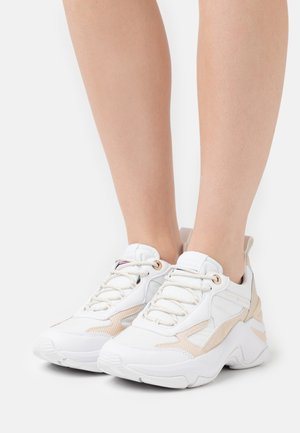 FASHION WEDGE - Trainers - white