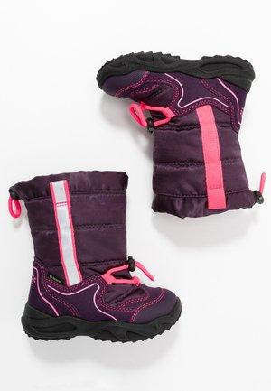 GLACIER - Botas para la nieve - lila/rosa