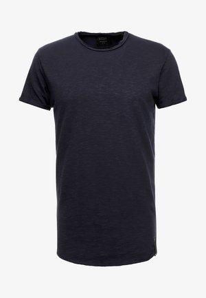 ALAIN - Jednoduché triko - navy