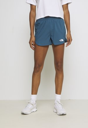 WOMENS ACTIVE TRAIL RUN SHORT - Korte sportsbukser - mallard blue