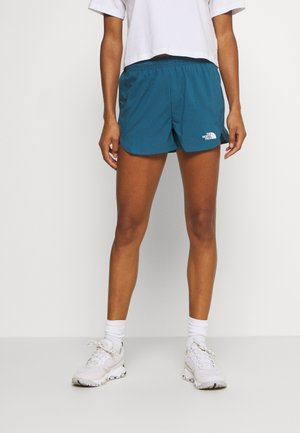WOMENS ACTIVE TRAIL RUN SHORT - Short de sport - mallard blue