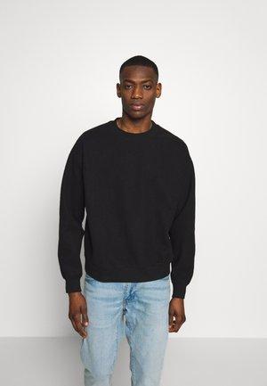 UNISEX WILLY REVERSED - Sweatshirt - washed black