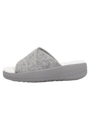 Pantolette flach - grey