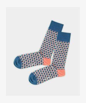 PREMIUM QUALITY - Socks - blau-orange