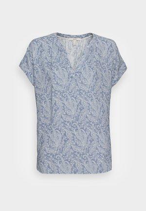 Blouse - pastel blue
