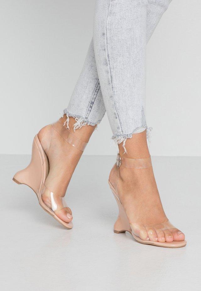 ELI - High heeled sandals - nude
