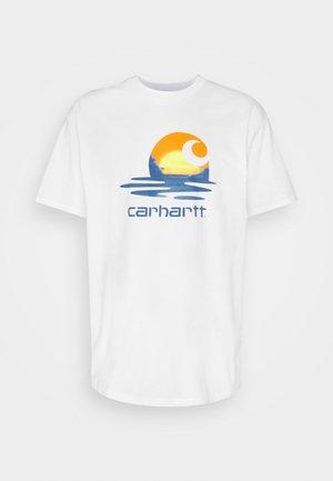 LAGOON - T-shirt med print - white