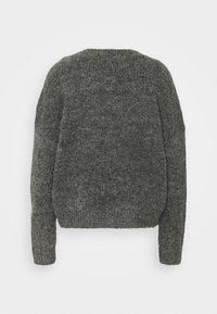 ONLY - ONYZOEY CARDIGAN - Cardigan - dark grey melange - 1