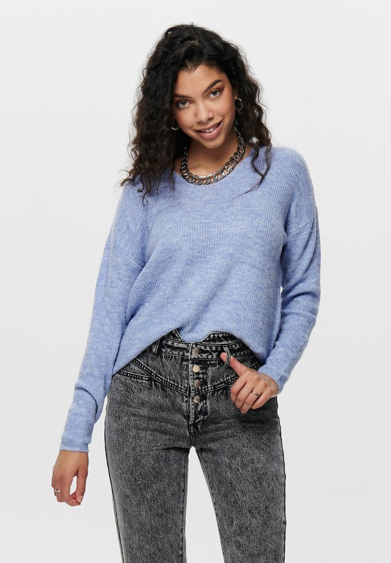 ONLY - ONLCAMILLA - Jumper - light blue