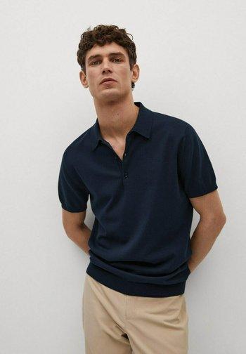TECHNOP - Polo shirt - marineblauw