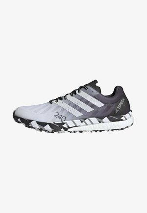 TERREX SPEED ULTRA  - Trail running shoes - white
