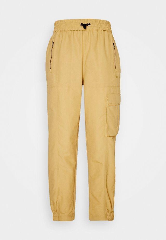SNOWDONIA CUFFED HIKING TROUSERS - Pantaloni sportivi - camel brown