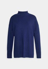 MILANO T NECK HOOKUP SERENE - Jumper - parisian blue heather