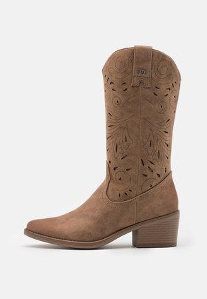TANUBIS - Cowboy/Biker boots - karma taupe