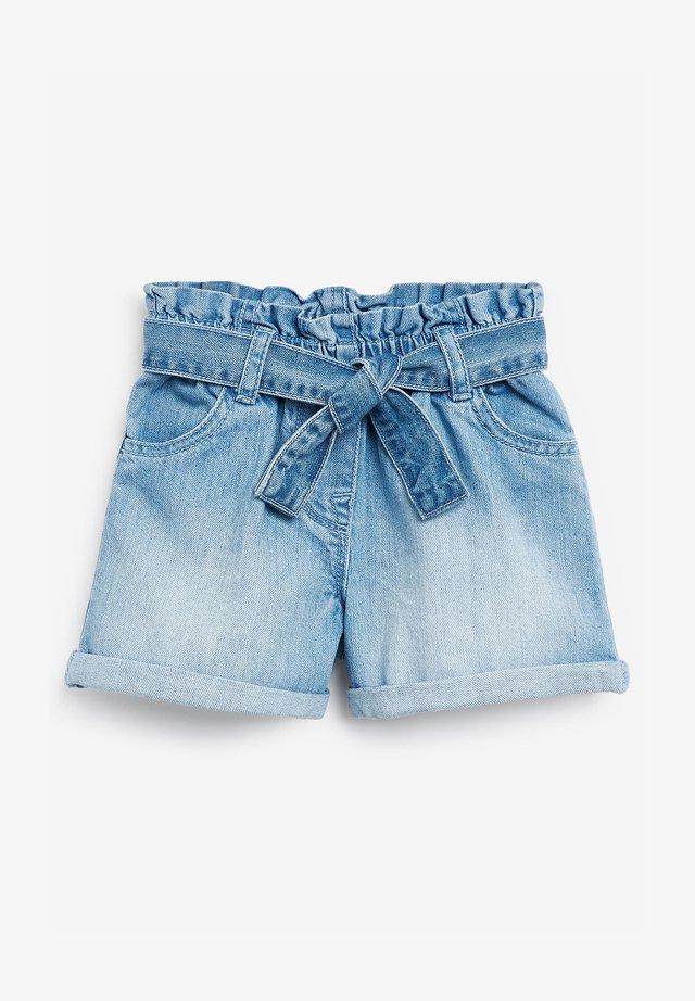 Shorts di jeans - bleached denim