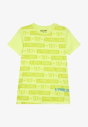 RUNDHALS - Print T-shirt - apfel