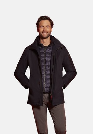 AUS DER WASSERDICHTEN RAINSERIES - Short coat - marine