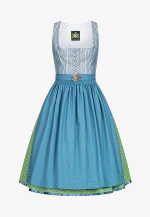 Dirndl - blue/green